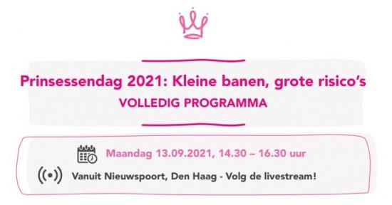 Klik hier voor het volledige programma Prinsessendag 2021.